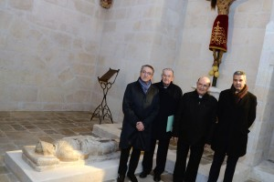 """La Fundación Caja de Burgos, la Obra Social """"la Caixa"""" y el Arzobispado culminan la restauración de la Capilla del Corpus Christi de la Catedral"""