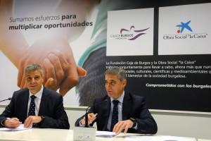 """La Obra Social """"la Caixa"""" y la Fundación Caja de Burgos destinan 500.000 euros a 24 entidades sociales"""