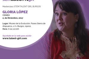 Gloria López, investigadora del Cenieh, ofrecerá mañana una charla en el MEH dentro del proyecto 'Stem Talent Girl'
