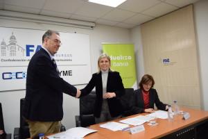 Fundación Bankia y FAE trabajarán juntas para impulsar la FP Dual en la provincia de Burgos