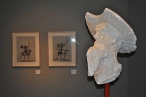 """La Fundacion Cajacirculo presenta la exposición de Venancio Blanco """"Una Mirada a Cervantes"""""""