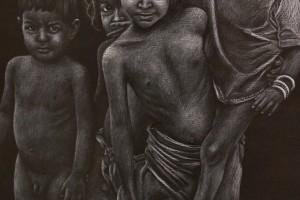 El Museo de la Evolución Humana presenta la exposición 'Arte y Derechos humanos', del artista Siro López