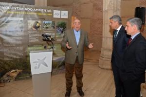 """La Fundación Caja de Burgos y la Obra Social """"la Caixa"""" abren una exposición con los resultados de su programa de voluntariado ambiental"""