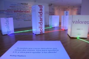 El Foro Solidario presenta hasta el 31 de julio la exposición Conectando valores