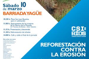 Mañana sábado cerca de 200 personas participarán en la celebración del Día del Árbol