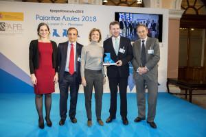 El Ayuntamiento de Burgos recibe el premio Tres Pajaritas Azules en su máxima distinción por su labor en el reciclaje de papel y cartón