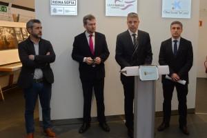 """La Obra Social """"laCaixa"""", la Fundación Caja de Burgos y el Museo Reina Sofía presentan en Burgos la obra maestra de Picasso"""