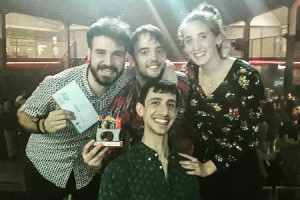 El grupo Sioqué se alza con la victoria en la final del IX Concurso de Grupos Musicales de la Universidad de Burgos