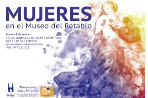El Museo del Retablo celebra este 8 de marzo el Día de la Mujer trabajadora
