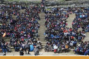 El Teatro Romano de Clunia acoge la XIX edición del Festival Juvenil de Teatro Grecolatino