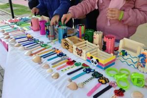 El Parque de Los Poetas acoge la inauguración de la 12ª Feria de Cooperativas Escolares