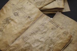 Siloé trabaja en la edición facsimilar del Villard de Honnecourt: 'El Libro de las Catedrales