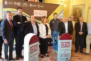 Burgos y Cantabria se unen para dinamizar la N-623
