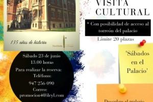 El Instituto Castellano y Leonés de la Lengua programa una visita guida a Los Sábados en el Palacio