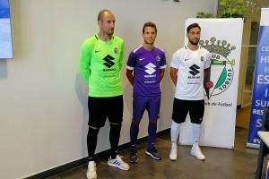 El Burgos CF presenta sus equipaciones para la temporada 2018-19