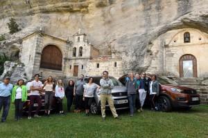 La Diputación, a través de Sodebur y Peugeot España eligen las Merindades para presentar el nuevo modelo de Peugeot, el Rifter