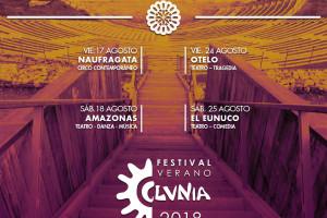 El 'Festival de Verano de Clunia 2018' se celebrará la segunda quincena de agosto