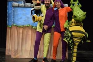 La compañía Títeres Los Bufones presenta en el MEH la obra familiar Una de dragones, princesas y dentistas