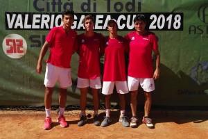 El tenista burgalés Nicolás Álvarez subcampeón de Europa de la Copa Galea