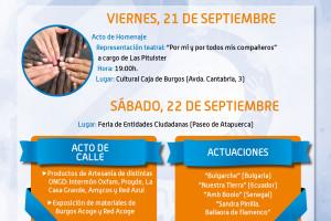 La Asociación Burgos Acoge celebra los días 21 y 22 de septiembre su XXV Aniversario