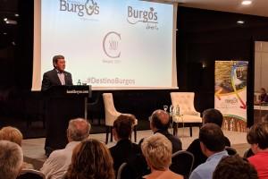 La provincia de Burgos se presenta en Pamplona ante más de 80 personas