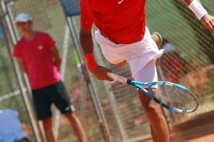 El tenista burgalés Nicolás Álvarez participa en los Juegos Olímpicos de Juventud