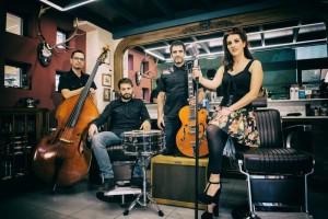 El grupo 'So What' llevará mañana al MEH su particular visión del swing, el jazz manouche y estilos cercanos