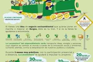 Arranca La Locomotora del Emprendimiento Verde en Burgos