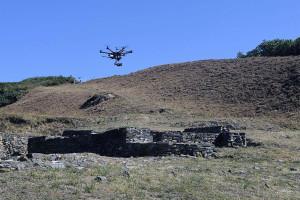 El ciclo 'Del Andamio al Dron' vuelve hoy al MEH con una charla sobre la aplicación de los drones en la arqueología