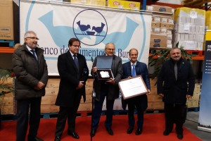 El Banco de Alimentos de Burgos entrega Dachser Spain el Diploma de Socio de Honor, por sus más de 20 años de colaboración