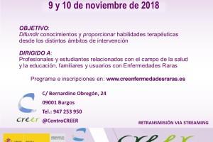 El CREER acoge las III Jornadas de Promoción para la Autonomía Personal en Enfermedades Raras