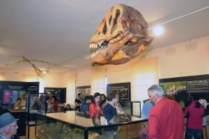 El Museo de Dinosaurios de Salas de los Infantes supera la cifra de 200 mil visitantes