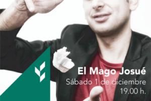 El Mago Josué se sube al escenario de la Sala Cajaviva Caja Rural con un espectáculo para todos los públicos
