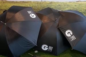 500 paraguas estarán disponibles en casi un centenar de establecimientos de Gamonal
