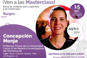 Concepción Monje, experta en Robótica protagoniza mañana en el MEH la segunda de las charlas del proyecto Stem Talent Girl
