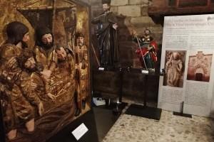 La exposición Santiago, el peregrino de Burgos supera los 2.000 visitantes en la Real y Antigua de Gamonal