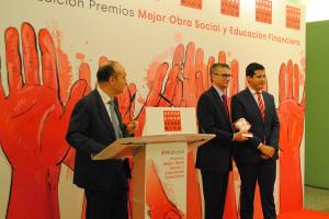 La Revista Actualidad Económica otorga un premio a la Fundación Cajacirculo por su Obra Social y Educación Financiera