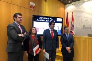 9.310 familias se benefician de las ayudas al alquiler de la Junta de Castilla y León