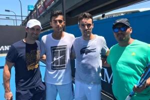 El tenista burgalés Nicolás Álvarez entre los 8 mejores del Open Australia Junior