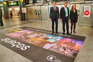 Alcalde de la ciudad presenta en Madrid la nueva campaña turística Burgos Tu próximo destino