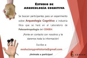 El CENIEH busca voluntarios para un estudio sobre arqueología cognitiva