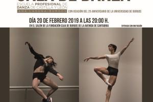 La UBU celebra su 25 Aniversario con una Gala de la Escuela Profesional de Danza de Castilla y León Ana Laguna