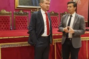 Los Alcaldes de Burgos y Granada acuerdan presentar de manera conjunta la Candidatura para entrar en la Red de Ciudades Patrimonio de la Humanidad