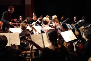 Burgos acoge el 2 de marzo la orquesta  Proyecto GuiA-Guitarras de Andalucía