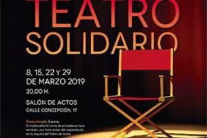 """La Fundación Cajacírculo presenta su Segunda Edición de Teatro Solidario, """"Los viernes ven al Teatro Solidario"""" con un total de cuatro obras a las 20h"""