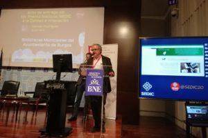 La Biblioteca Municipal de Burgos recibe el XIV Premio Nacional SEDIC a la Calidad e Innovación Carmen Rodríguez Guerrero