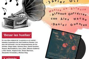 El Disco Besar Las Huellas se presenta en Los Sábados en Palacio con un recital poético y música en directo