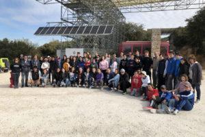 Cerca de sesenta estudiantes participan en la jornada de educación y convivencia en la sierra de Atapuerca 2019