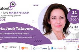 María José Talavera, directora general de VMware Iberia, imparte el sábado en el MEH la séptima charla del ciclo 'Stem Talent Girl'