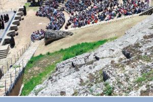 El Teatro Romano de Clunia acoge la XX edición del Festival Juvenil de Teatro Grecolatino